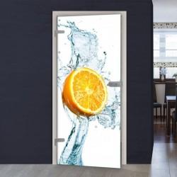 """Glastür 1036-1 """"Zitrone"""""""