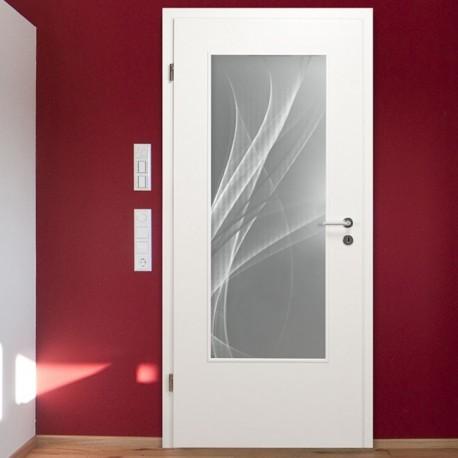 "LALD 004 S ""Nebel"" Verglasungen mit Lasergravur"