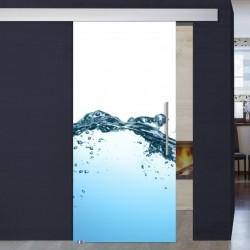 """Schiebetür 1035-1 """"Wasser"""""""