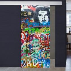 """Schiebetür 1056-4 """"Graffiti"""""""