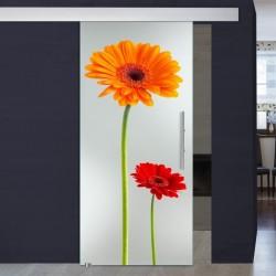 """Schiebetür 1009-3 """"Flowers3"""""""