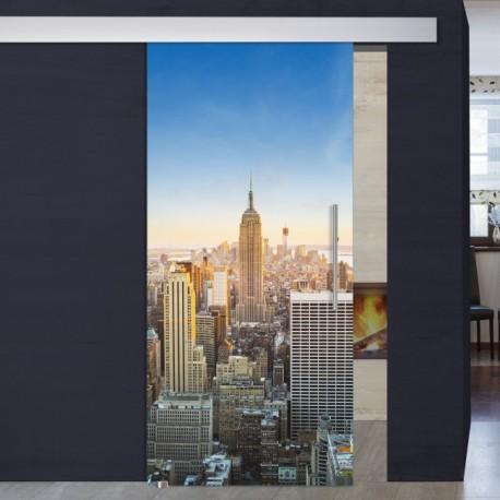 """Schiebetür 1014-1 """"New York"""" Digitaldruck- Schiebetüren"""