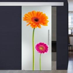 """Schiebetür 1009-4 """"Flowers3"""""""