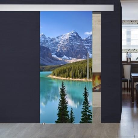 """Schiebetür 1070-1 """"Canada"""" Digitaldruck- Schiebetüren"""