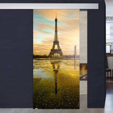 """Schiebetür 1007-1 """"Eiffelturm"""""""