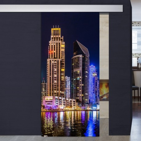 """Schiebetür 1006-1 """"Dubai"""" Digitaldruck- Schiebetüren"""
