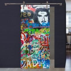 "Schiebetür 1056-4 ""Graffiti Mann"""