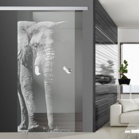 Glasschiebetür SLD 007 F 'Elefant'