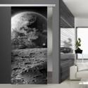 Glasschiebetür SLD 002 SW 'Erde'