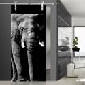 Glasschiebetür SLD 007 SW 'Elefant'