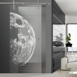 Glasschiebetür SLD 008 F 'Moon'