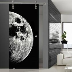 Glasschiebetür SLD 008 SW 'Moon'