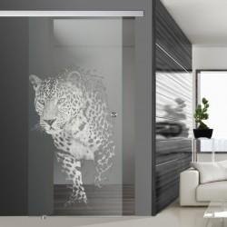Glasschiebetür SLD 006 F 'Jaguar'