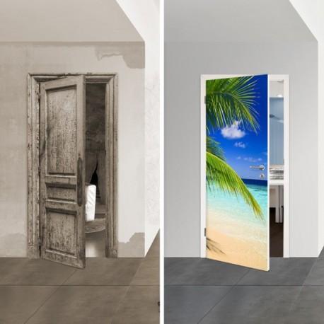 Türposter 1038-1 'Karibik' selbstklebende Türfolien