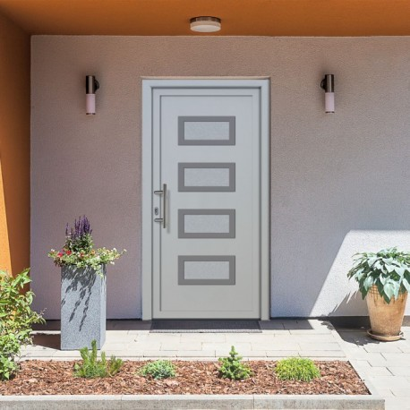 Haustür GTM21 weiß Haustüren