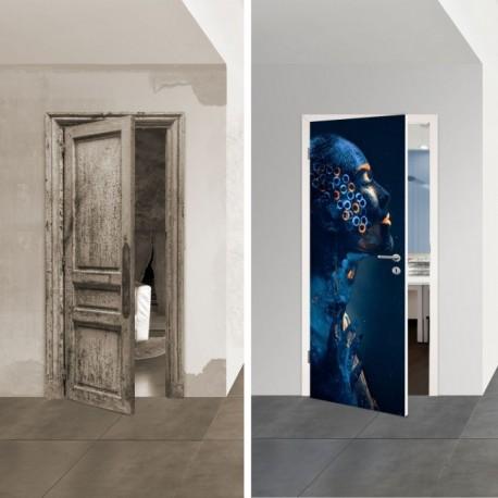Türposter 1055-1 'Alien' selbstklebende Türfolien