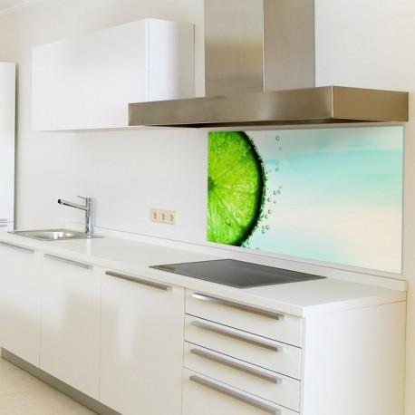 """Glasbild 1012-1 """"Limette"""" Glasbilder / Küchenrückwände"""
