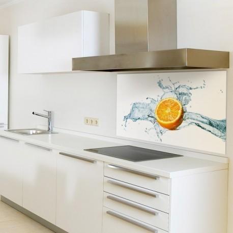 """Glasbild 1036-1 """"Zitrone"""" Glasbilder / Küchenrückwände"""