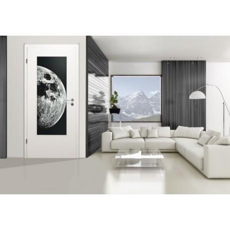 LALD 008 SW 'Moon' Verglasungen mit Lasergravur