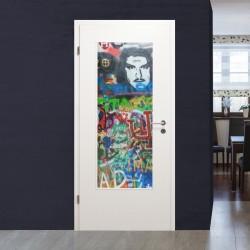"""Lichtausschnitt 1056-4 """"Graffiti Mann"""""""