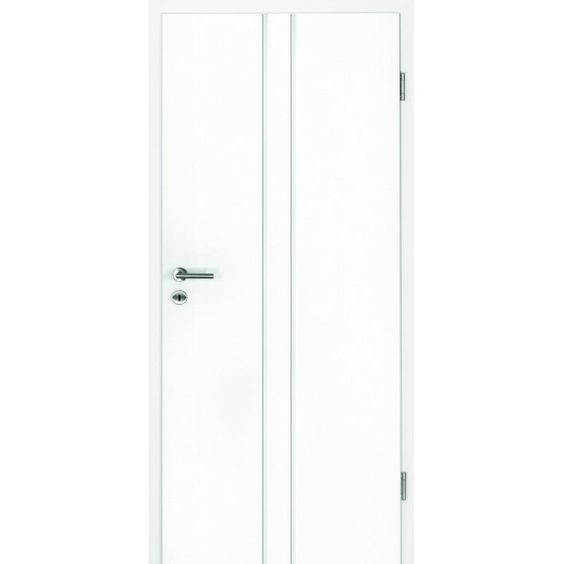 Garant Wohndesign: Weisslack Innetür Nook 7