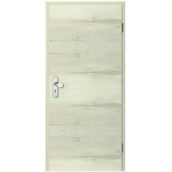 Cross Eiche Nordic Lebolit-CPL Wohnungseingangstür - Lebo