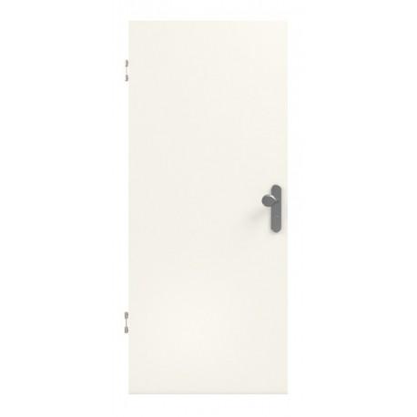 Weiss 9010 Lebolit-CPL Wohnungseingangstür - Lebo