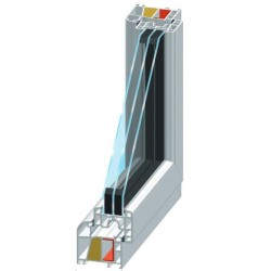 Fenster Thermoblue 76/3