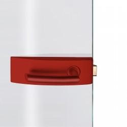 Dorma Glastürbeschlag Arcos Studio Feuerrot RAL3000