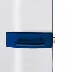 Dorma Glastürbeschlag Arcos Studio Ultramarinblau RAL5002
