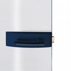 Dorma Glastürbeschlag Arcos Studio Kobaltblau RAL5013