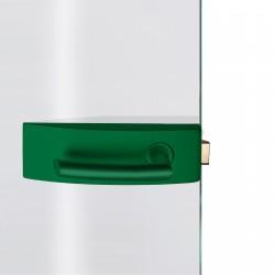 Dorma Glastürbeschlag Arcos Studio Minzgrün RAL6029