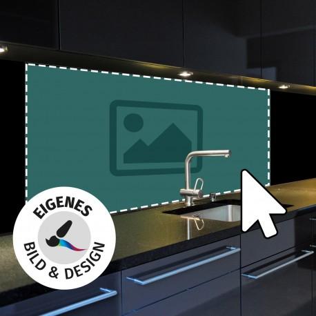 Küchenrückwand mit eigenen Design Glastür-Designer