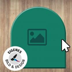 Kaminbodenplatte OPF 1 mit eigenem Foto-Design