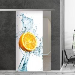 SlimLine45 Glasschiebetür 1036-1-Zitrone