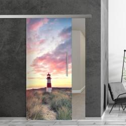 SlimLine45 Glasschiebetür 1065-1-Leuchtturm