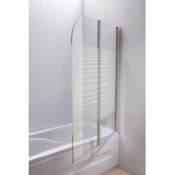 Badewannenaufsatz / Duschtrennwand / Badewannenabtrennung - BA-HL-SE15