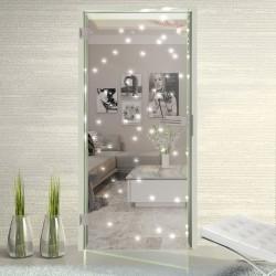 Ganzglastür LED Klarglas LED Glastüren