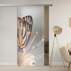 SlimLine45 Glasschiebetür 1102-1-Butterfly SlimLine45