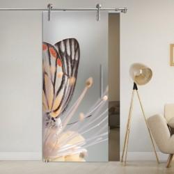"""Schiebetür 1102-1 """"Butterfly"""" Digitaldruck-Schiebetüren"""
