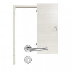 Innentür-Set Pinie Weiß 230  Portalit Zimmertür mit Zarge und Drücker Westag & Getalit