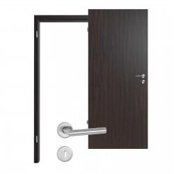 Innentür-Set Wenge We 716  Portalit Zimmertür mit Zarge und Drücker Westag & Getalit