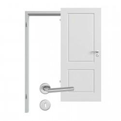 Innentür-Set Provence Typ 4002 Ferrum RAL (7047) Zimmertür mit Zarge und Drücker Westag & Getalit