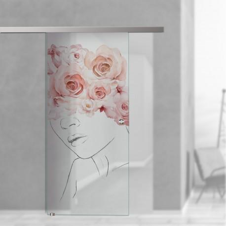 SlimLine45 Glasschiebetür Julika