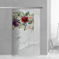 SlimLine45 Glasschiebetür Juliette