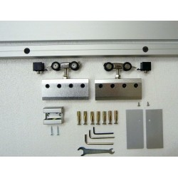 XXL Schiebesystem Alu60 1Flüglige Schiebetüren Maße 1200 x 2100