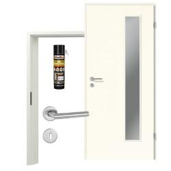 Innentür-Set Portalit LA 1B  A223 Zimmertür mit Zarge und Drücker Westag & Getalit