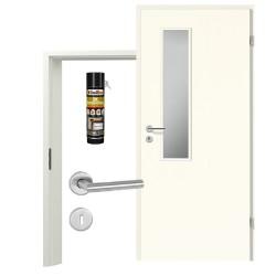 Innentür-Set Portalit LA18 215 A223 Zimmertür mit Zarge und Drücker Westag & Getalit