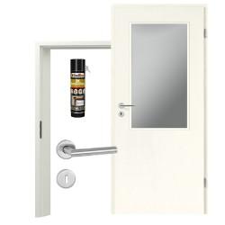 Innentür-Set Portalit LA-100 A223 Zimmertür mit Zarge und Drücker Westag & Getalit