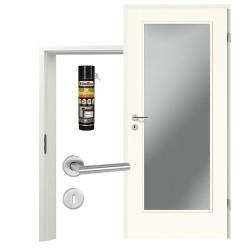 Innentür-Set Portalit LA-1000 A223 Zimmertür mit Zarge und Drücker Westag & Getalit